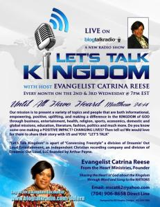 """Let's Talk Kingdom with Catrina"""